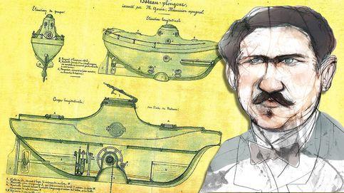 Cosme García, el genio sin estudios que inventó el submarino y se arruinó