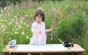 Una niña con autismo asombra al mundo del arte con su talento