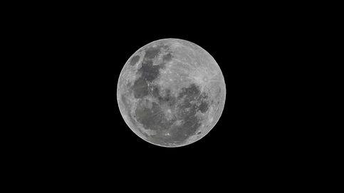Luna llena de marzo: sigue en 'streaming' la salida de la 'Superluna del Gusano' desde el Teide
