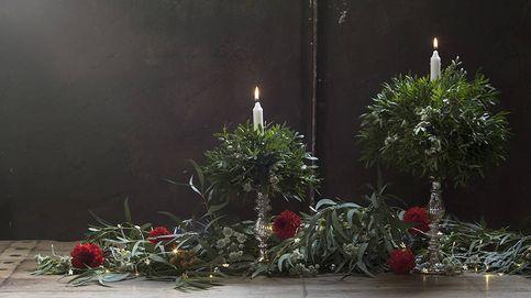 Esta Navidad decora con flores y plantas naturales