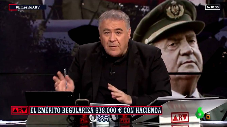 Ferreras noquea a Ayuso en La Sexta con la Constitución por sus palabras sobre el rey emérito
