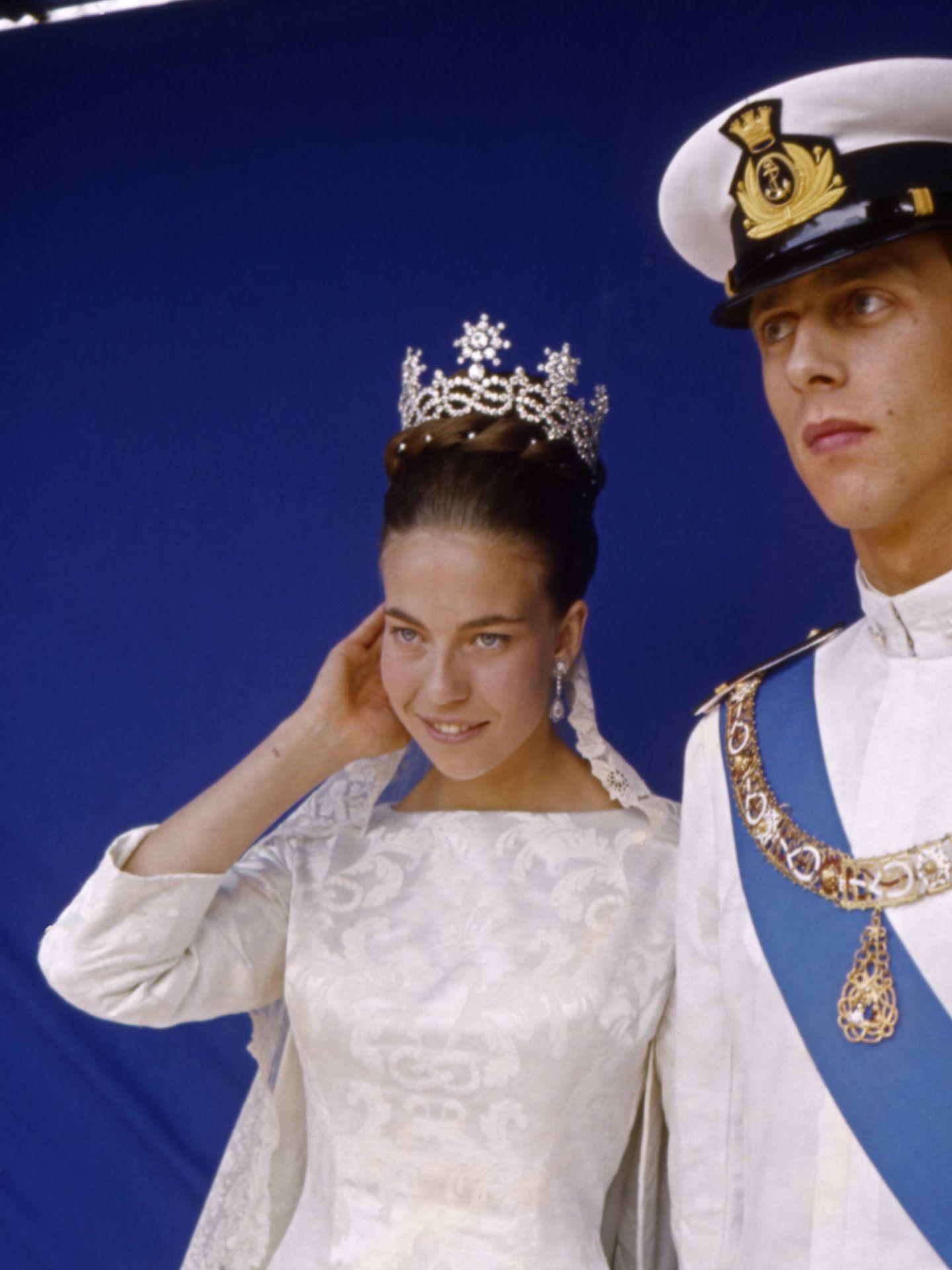 La boda de Amadeo y Claudia de Orleans. (Getty)