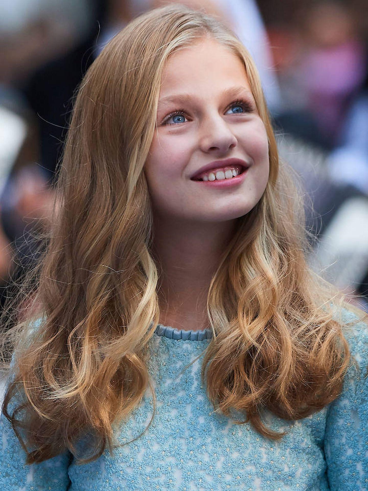 La princesa Leonor, en los Premios Princesa de Asturias 2019. (Limited Pictures)