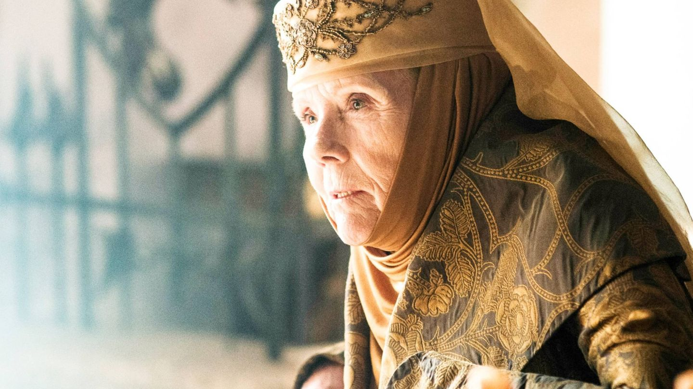 Diana Rigg, en 'Juego de tronos'. (Cordon Press)