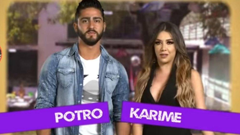 Foto: Potro y Karime