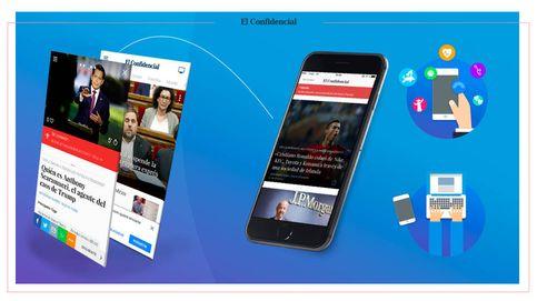 El Confidencial mejora su versión móvil y combina lo mejor de la web y de las apps