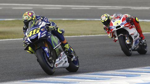 Rossi desfila sobre Jerez