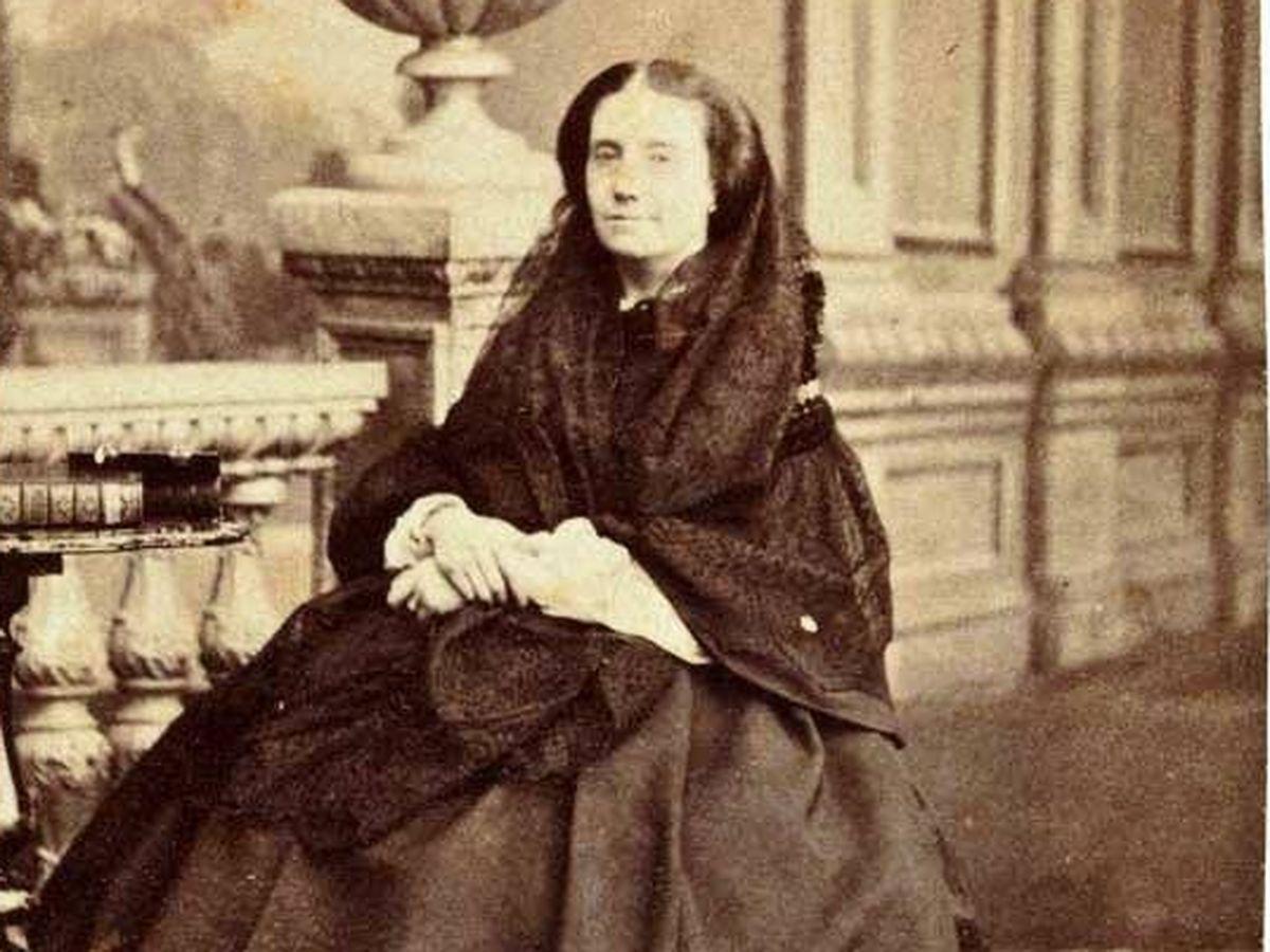 Foto: La infanta Isabel Fernandina, nieta de Carlos IV.