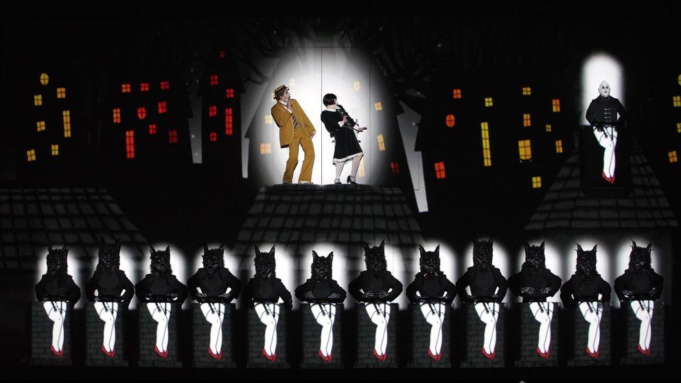 Mozart y Buster Keaton crean 'La flauta mágica' más cinematográfica