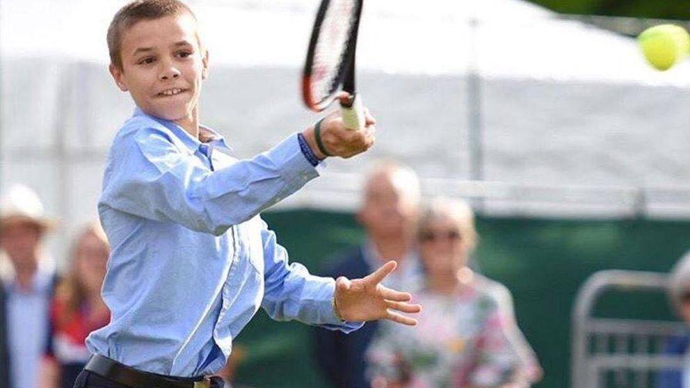 Romeo Beckham, alumno de Rafa Nadal para convertirse en estrella del tenis