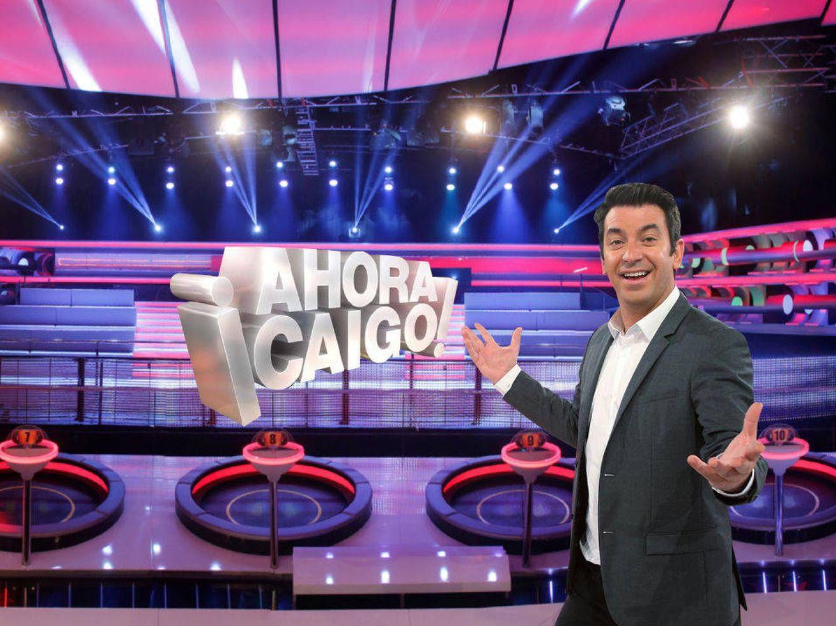 Foto: Arturo Valls, en '¡Ahora caigo!'. (Antena 3)