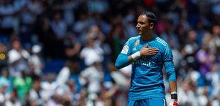 Post de Los dientes largos en el Real Madrid con Keylor Navas y el PSG