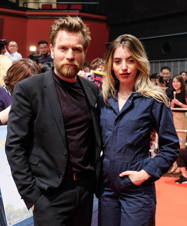 Foto: Ewan McGregor, con su hija Clara, en una imagen de archivo. (Getty)