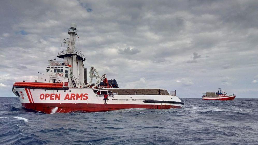 Foto: El barco español Open Arms. (Reuters)