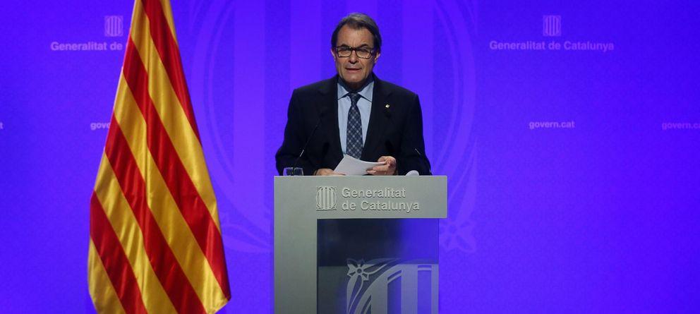 Foto: El 'president' de la Generalitat, Artur Mas, comparece en rueda de prensa (Reuters)
