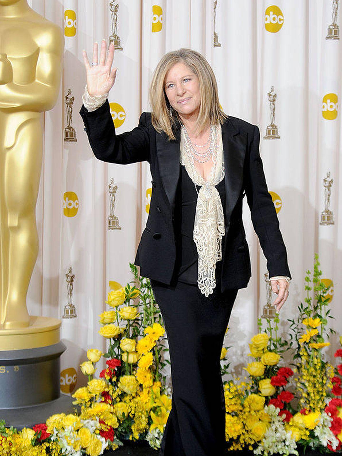 La cantante y actriz Barbra Streisand (Getty Images).