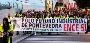 Post de Transportistas, proveedores y empresas auxiliares se manifiestan por Ence