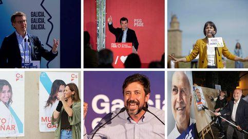 De Feijóo a Pontón: estos son los candidatos a las elecciones gallegas 2020