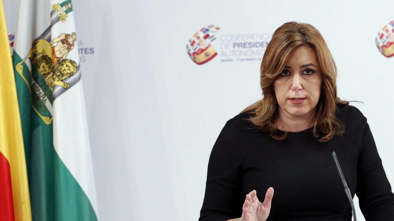 """Susana Díaz pide cuentas a Rajoy por el """"atropello"""" de eliminar fiscales incómodos"""