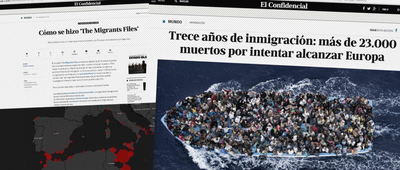 Foto: 'The Migrants Files'. (EC)