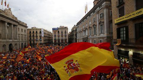 El día en que la plaza Sant Jaume coreó Viva España