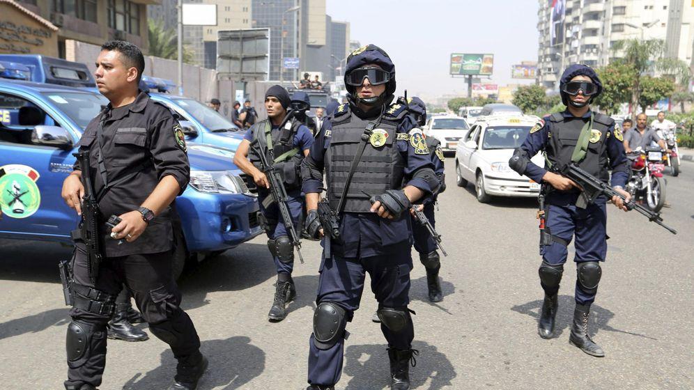 Foto: Miembros de las fuerzas de seguridad de Egipto en una fotografía de archivo. (Efe)