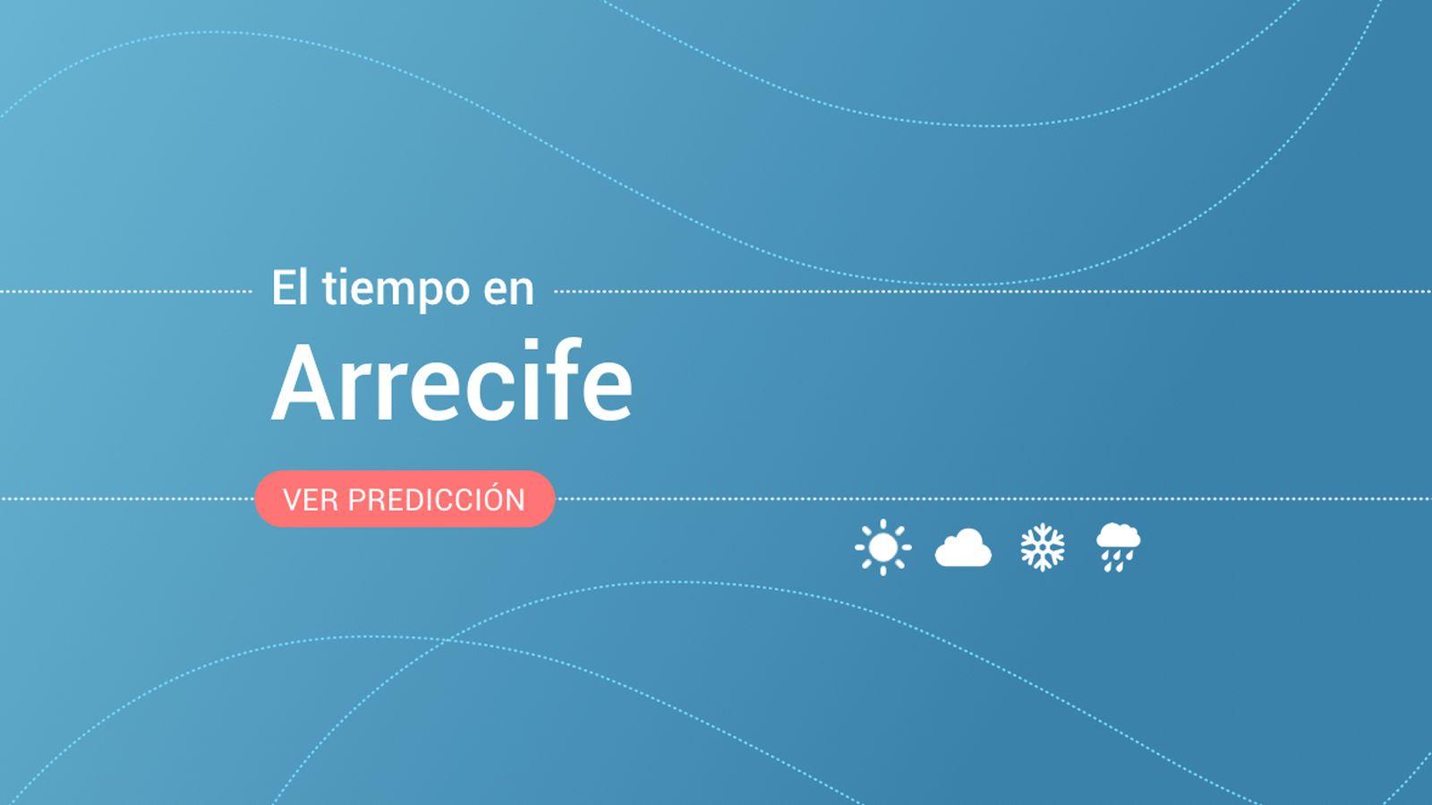 Foto: El tiempo en Arrecife. (EC)