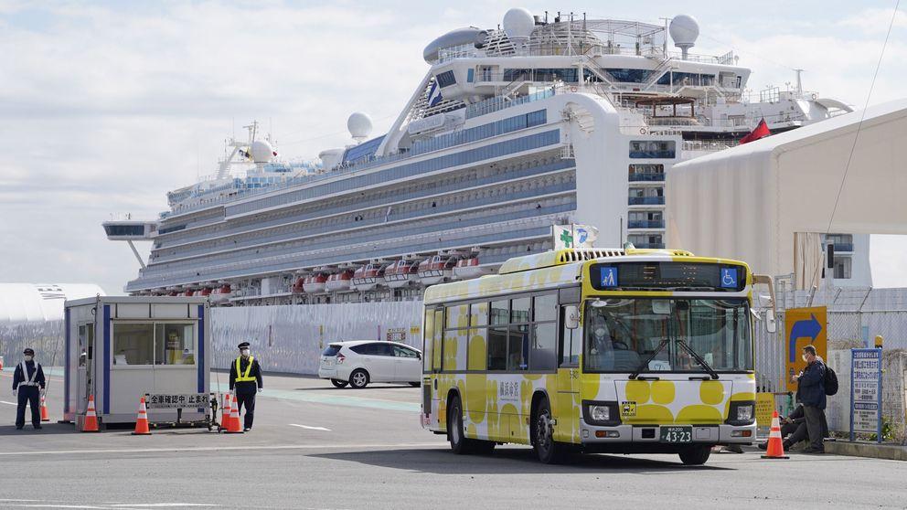 Mueren dos japoneses que viajaban en el crucero 'Diamond Princess' por coronavirus