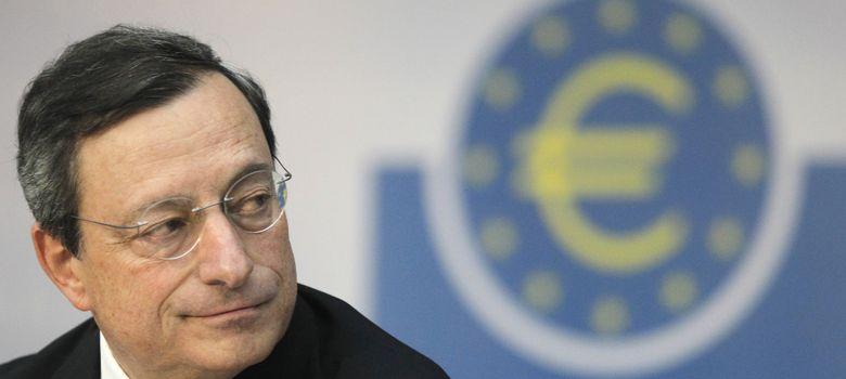 Foto: El presidente del BCE, Mario Draghi, durante la rueda de prensa posterior a la reunión del 7 de noviembre