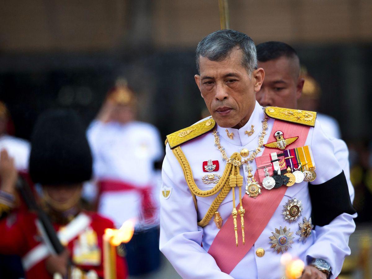 Foto: El rey de Tailandia en una imagen de archivo. (EFE)