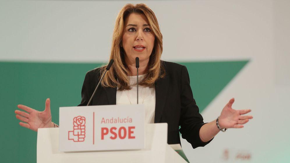 Foto: La secretaria general del PSOE de Andalucía y presidenta de la Junta, Susana Díaz. (EFE)
