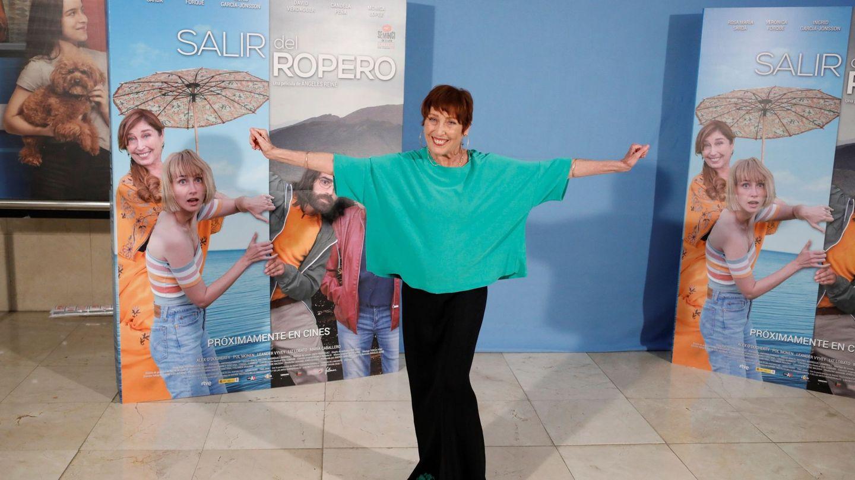 Verónica Forqué, en la presentación de 'Salir del ropero'. (EFE)