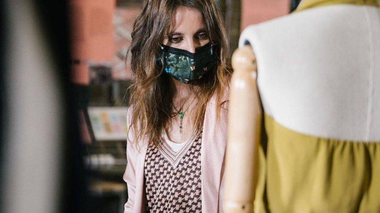 Andrea Levy, fondo de armario 'low cost' en su debut en la Semana de la Moda