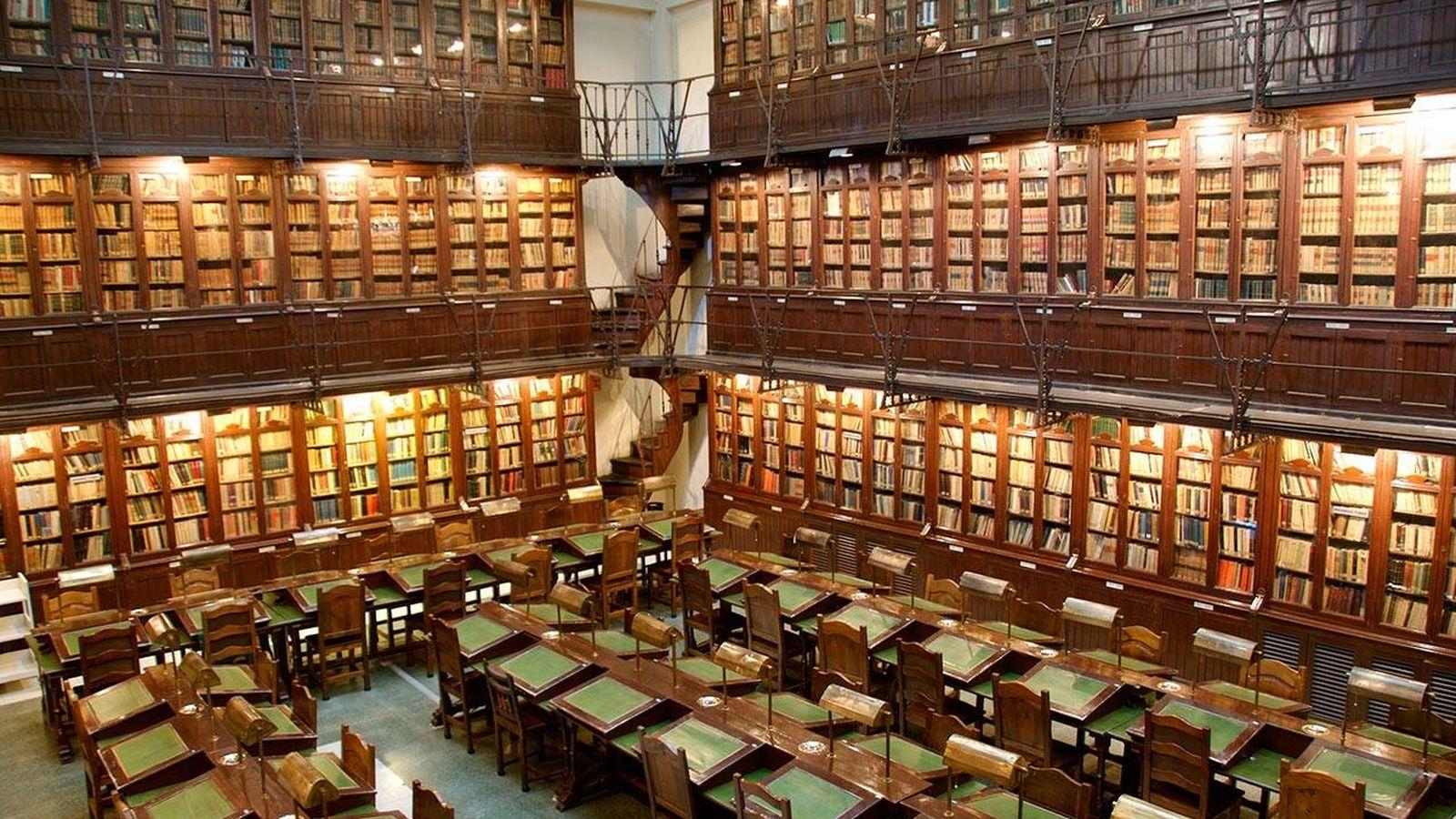 Foto: La biblioteca privada más importante de España. Fuente: Ateneo de Madrid