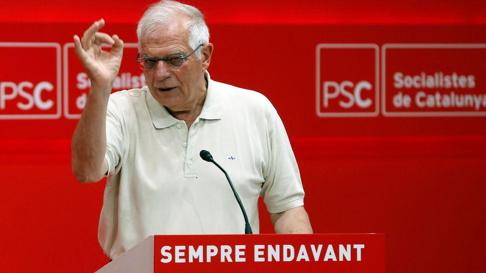 Foto: El ministro de Asuntos Exteriores en funciones, Josep Borrell. (EFE)