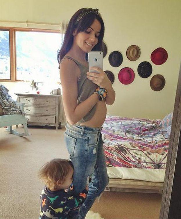 Foto: Raquel del Rosario espera su segundo hijo (Instagram)