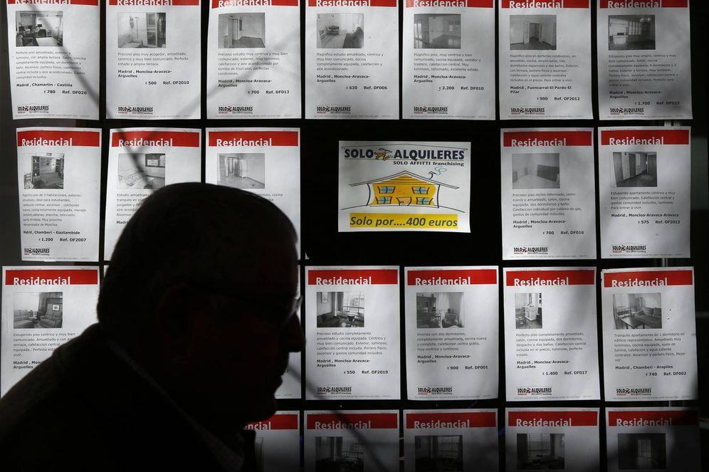 Foto: Una agencia inmobiliaria de Madrid. (R)
