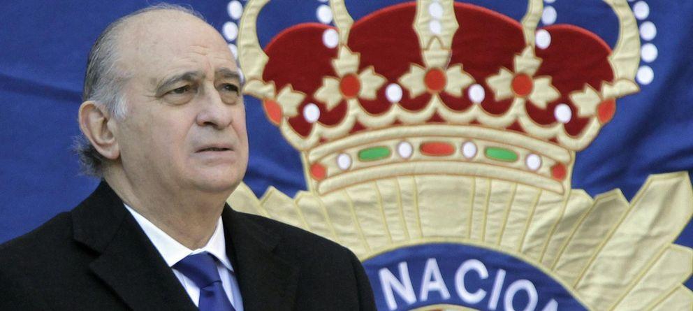 Foto: El ministro del Interior, Jorge Fernández Díaz, el pasado 4 de marzo en Barcelona. (EFE)