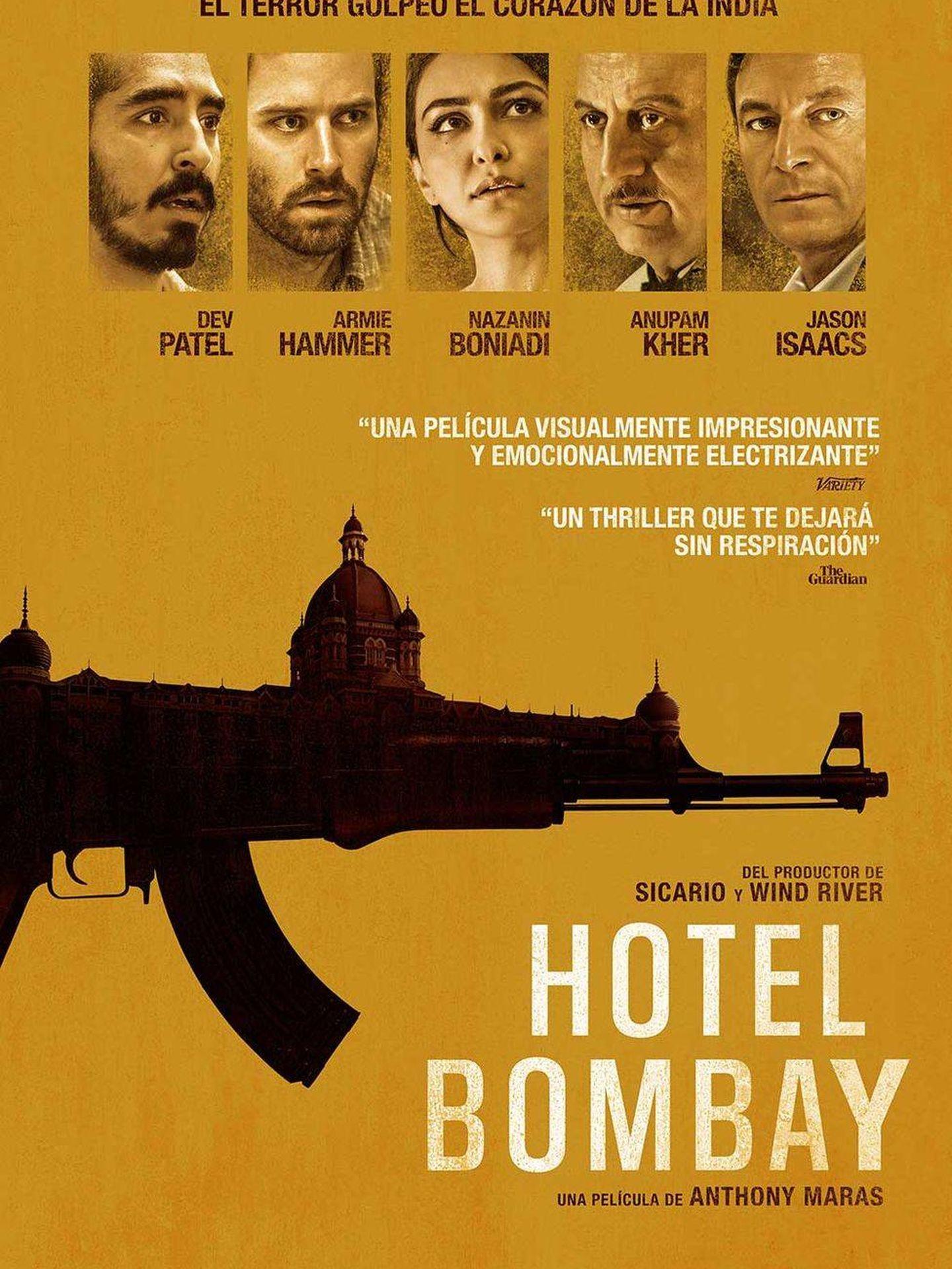 Cartel de 'Hotel Bombay'.