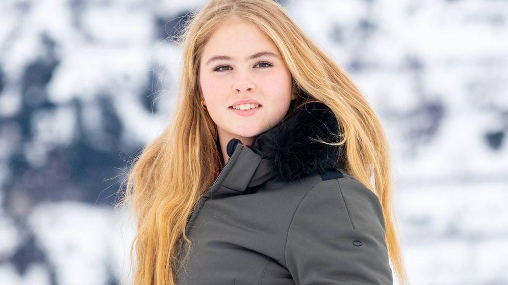 Foto: La princesa Amalia de Holanda, en el posado de Lech. (CP)