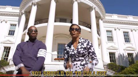 A ritmo de rap: Michelle Obama anima a los jóvenes a ir a la universidad