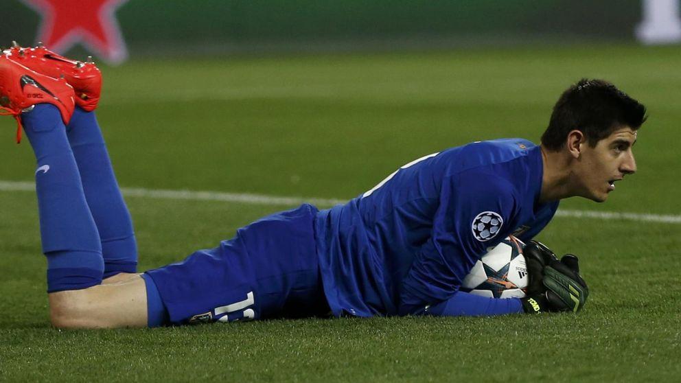 Courtois sólo jugaría ante el Chelsea si el Atlético paga una millonada