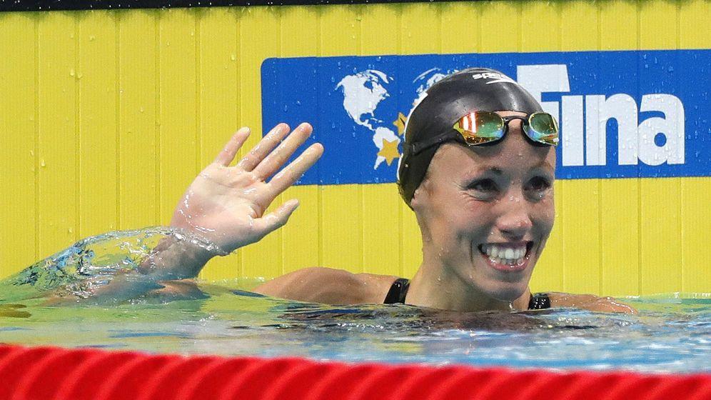 Foto: Jessica Vall se clasificó con el sexto mejor tiempo. (EFE)