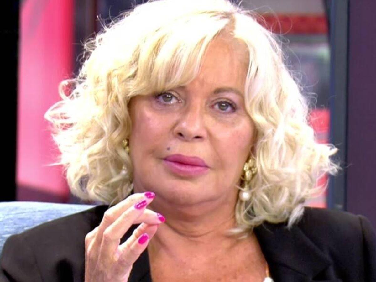 Foto: Bárbara Rey, en 'Sábado Deluxe'. (Telecinco).