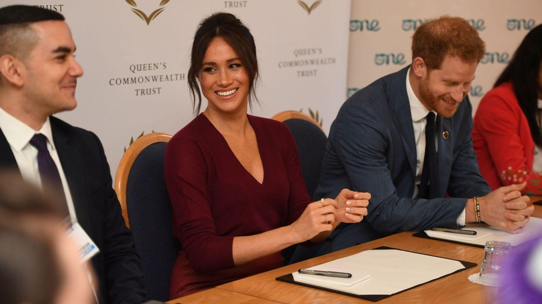 La duquesa, durante el acto. (Reuters)
