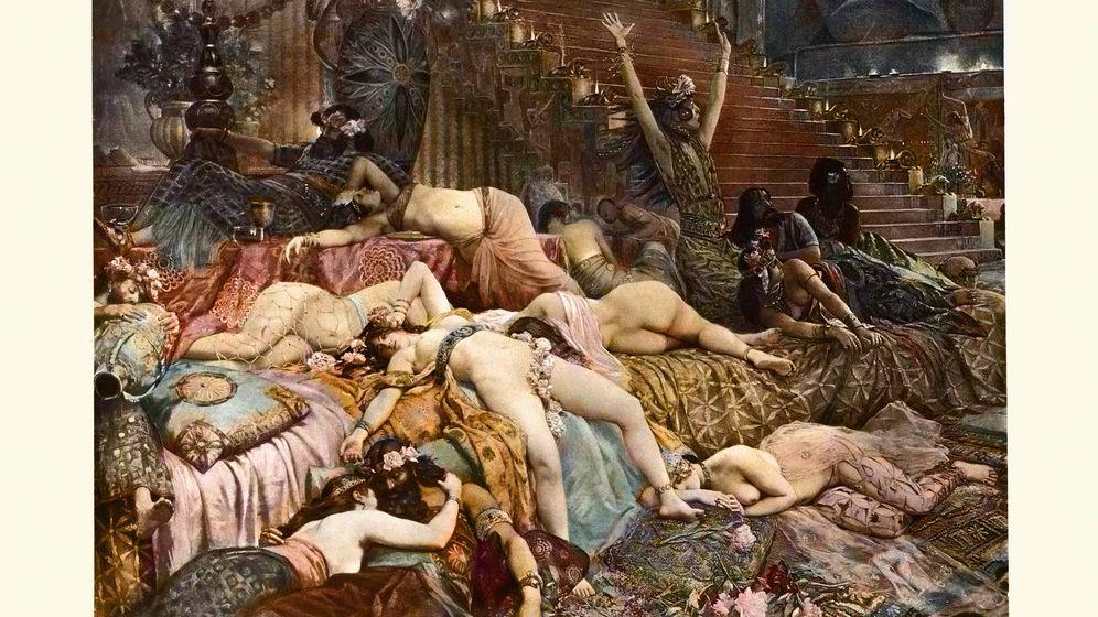Foto: Caída de Babilonia, de Georges Antoine Rochegrosse. (iStock)