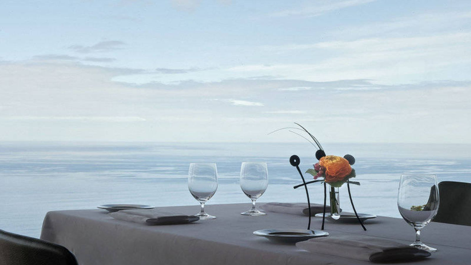 Foto: El horizonte infinito de Akelarre.