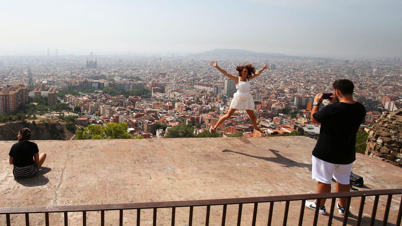 El fotografiable horizonte de Barcelona. (Reuters/Albert Gea)