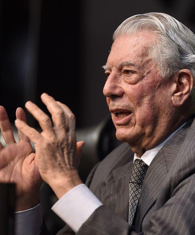 Foto: Mario Vargas Llosa, en la presentación de su última novela (Gtres)