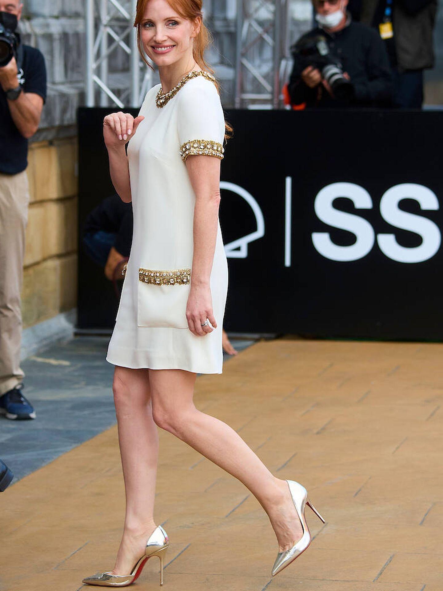 Jessica Chastain. (LP)
